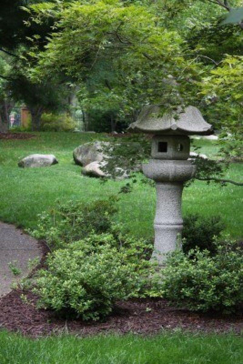 Stock Photo Anese Garden Lanterns Asian