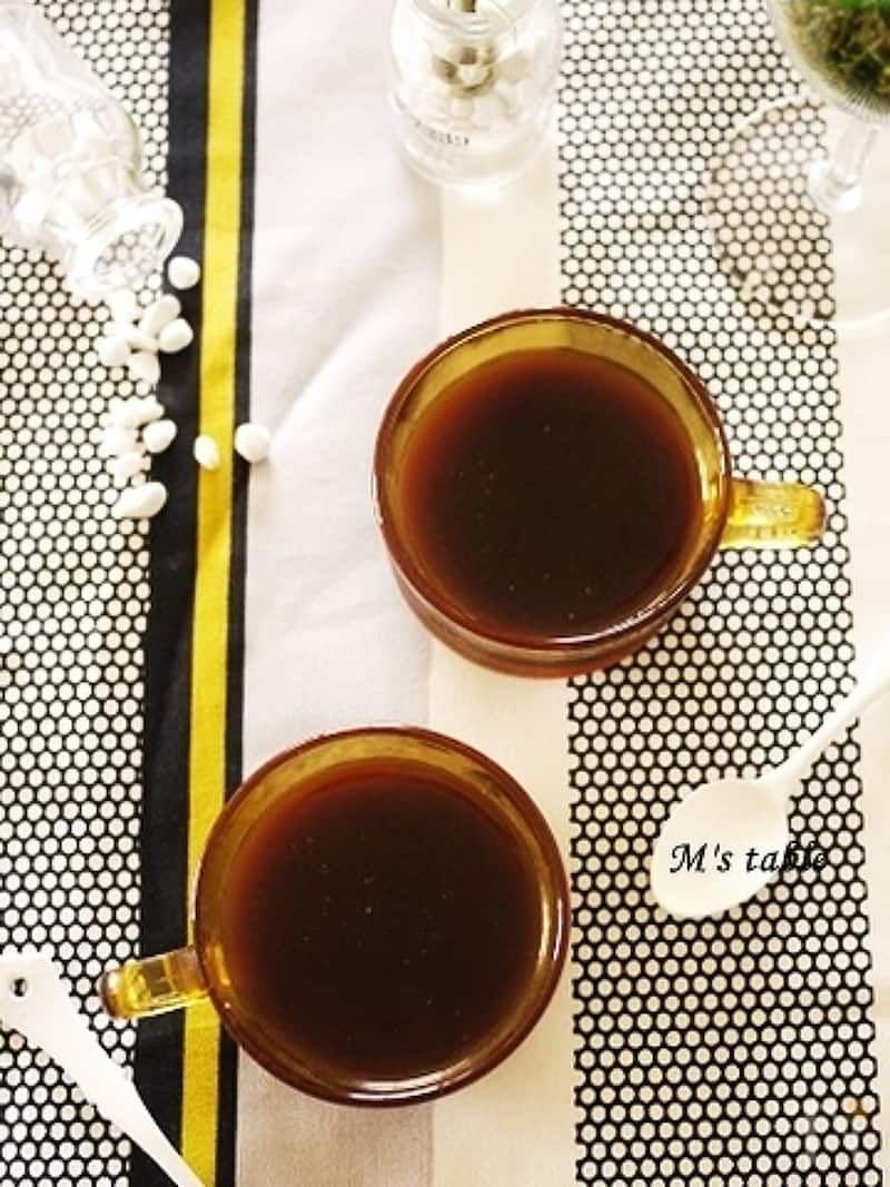 コーヒーゼリー By M S Table Makko レシピサイト Nadia ナディア プロの料理家のおいしいレシピ レシピ 2020 コーヒーゼリー ゼリー コーヒー 砂糖
