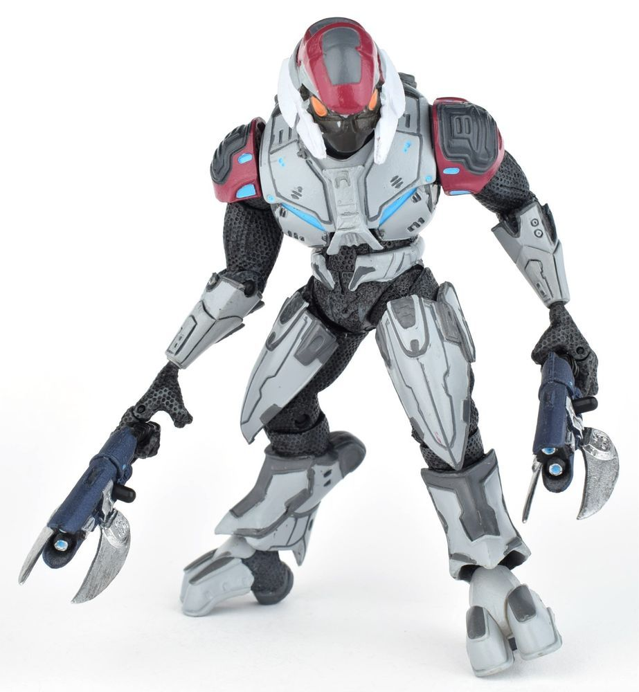 "Halo 3 Series 8 ELITE ASCETIC SILVER 5"" Action Figure Spiker McFarlane 2010 #McFarlaneToys"