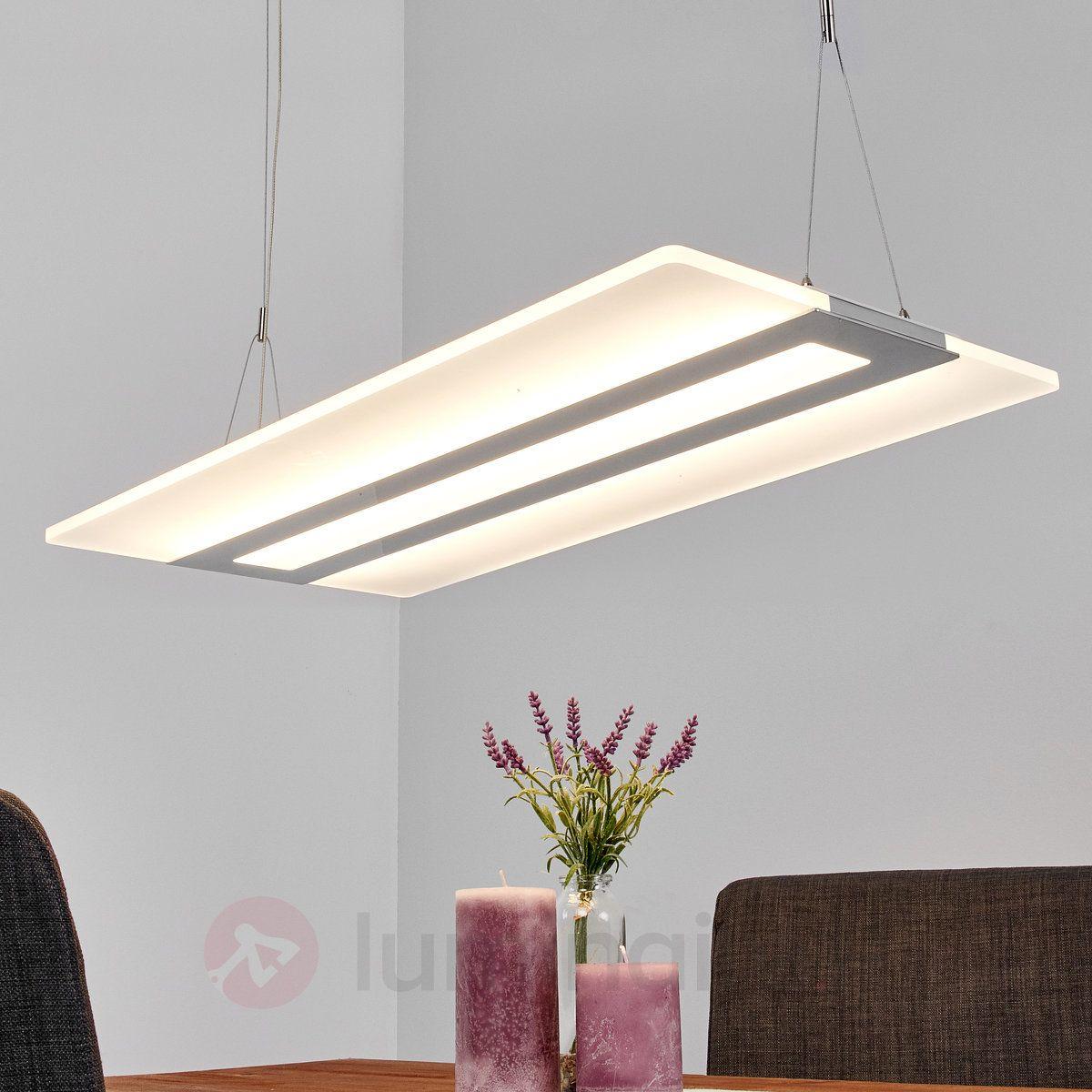 Suspension LED rectangulaire Fiena 9644015