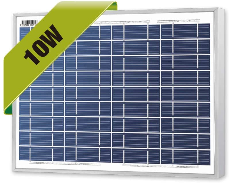 Amazon Com Newpowa 10 Watts 12 Volts Polycrystalline Solar Panel 10w 12v High Efficiency Module Rv Marine Boat Off Grid Garde In 2020 Solar Panels Efficiency Solar