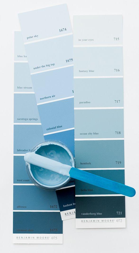 Blue White Atlanta Homes Lifestyles Blue Paint Colors Light Blue Paint Colors Blue Paint