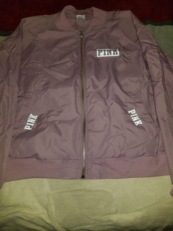 f49232d3c85d07 Vs Pink bomber anorak jacket
