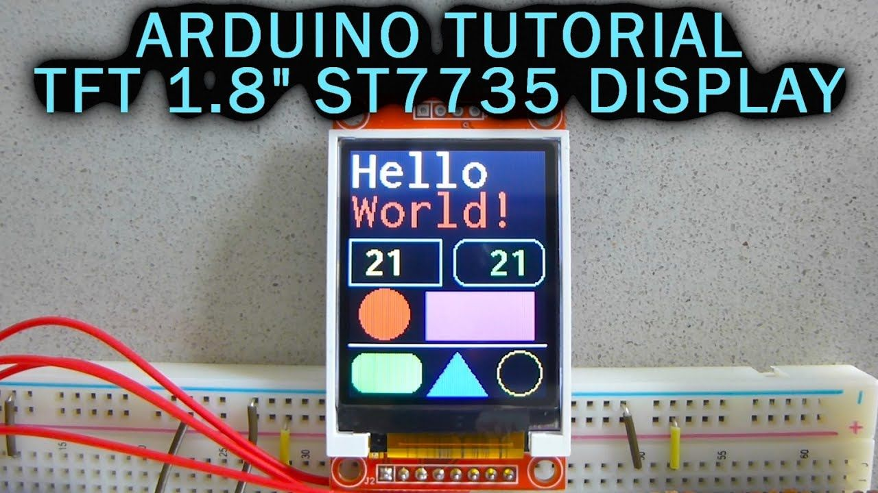 Arduino Tutorial: 1 8