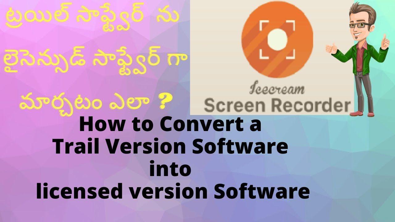 Ice cream Screen Recorder Pro Free Download, Install