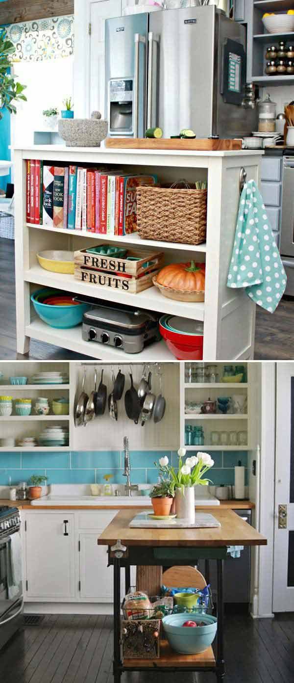 Top 21 Awesome Ideas To Clutter-Free Kitchen Countertops | Counter Homemade Cabin Kitchen Counter Ideas on homemade bookshelf ideas, homemade backyard ideas, homemade cutting board ideas, homemade cabinet ideas, homemade garage ideas, homemade fireplace ideas, homemade bed ideas, homemade bedroom ideas,