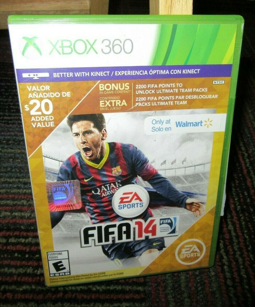 Details about FIFA 14 (Microsoft Xbox 360, 2013) GAME DISC