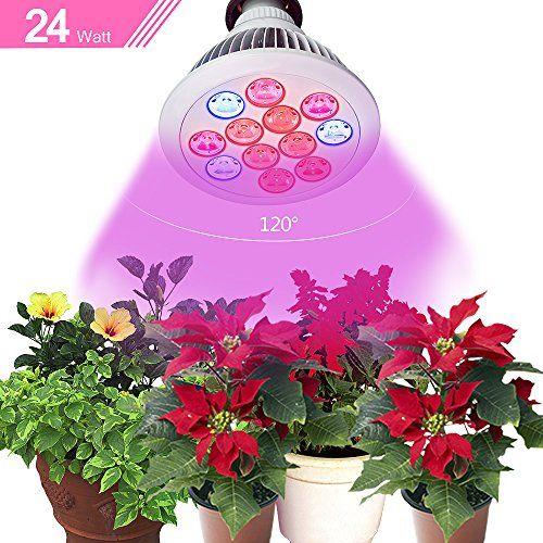 Newest High Efficient Hydroponic Led Grow Light Bulb 640 x 480