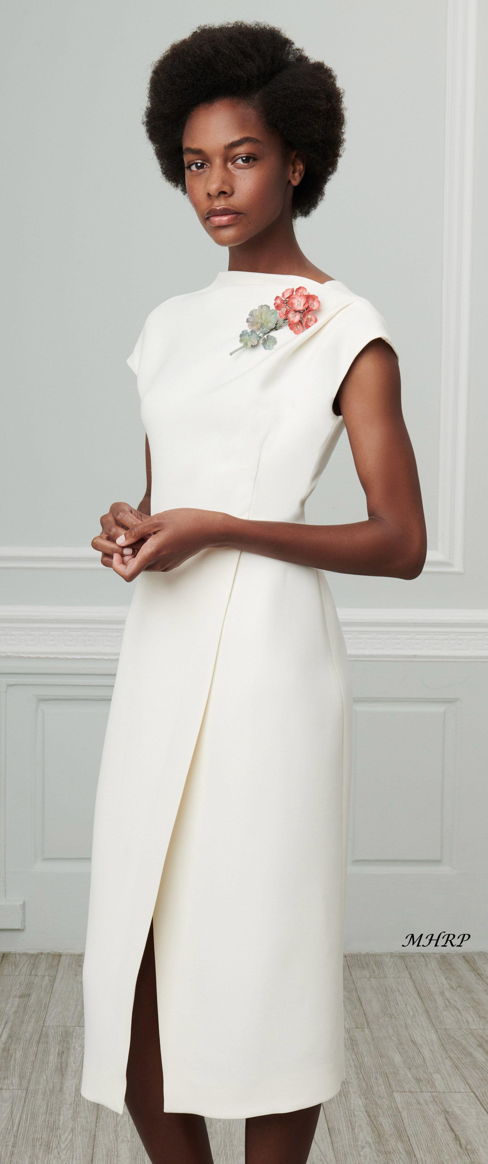 c2d7b3cd630b77 oscar-de-la-renta-vogue-resort-2019 | Sukienka | Dresses, Fashion i ...