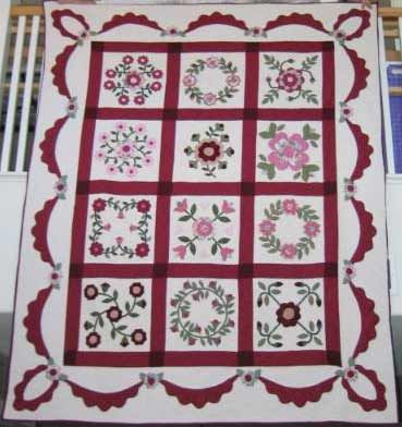 Free Baltimore Album Quilt Blocks Quilting Information Article