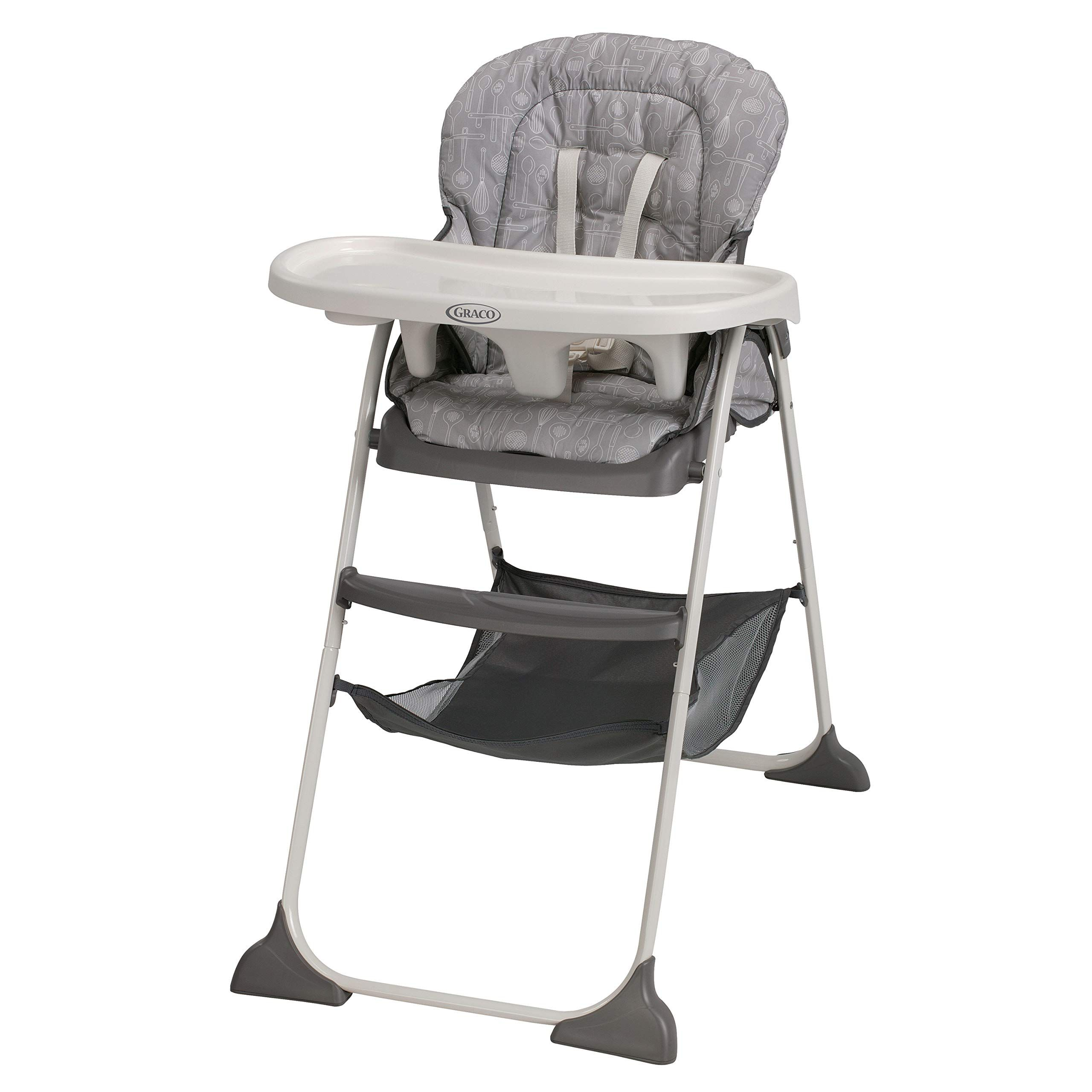 Graco Slim Snacker High Chair Ultra Compact High Chair Whisk Folding High Chair Baby High Chair Best High Chairs
