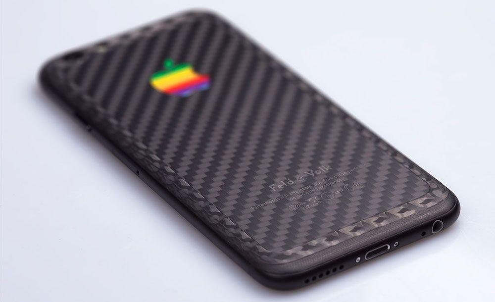 une coque iphone en fibre de carbone à 5 200$ par feld & volk