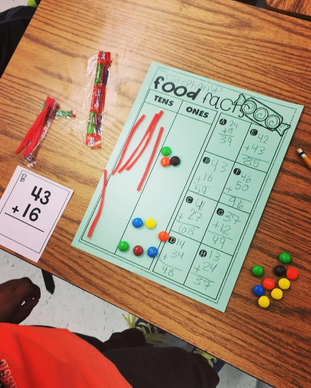 Using Candy To Make Math Fun Easily Modifiable For First