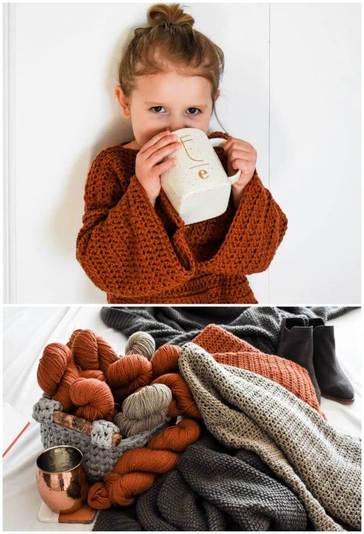 Photo of Beginner's Guide To Crocheting Your 1st Sweater: 20 Easy Crochet Sweater Patte…