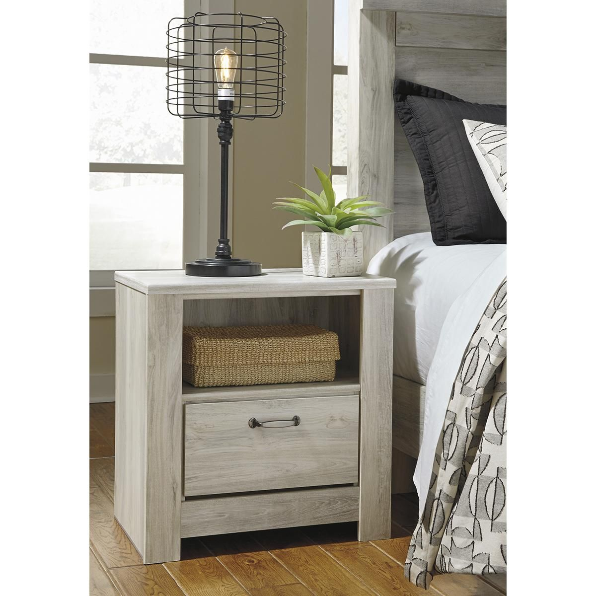Signature Design by Ashley Bellaby 1 Drawer Nightstand in