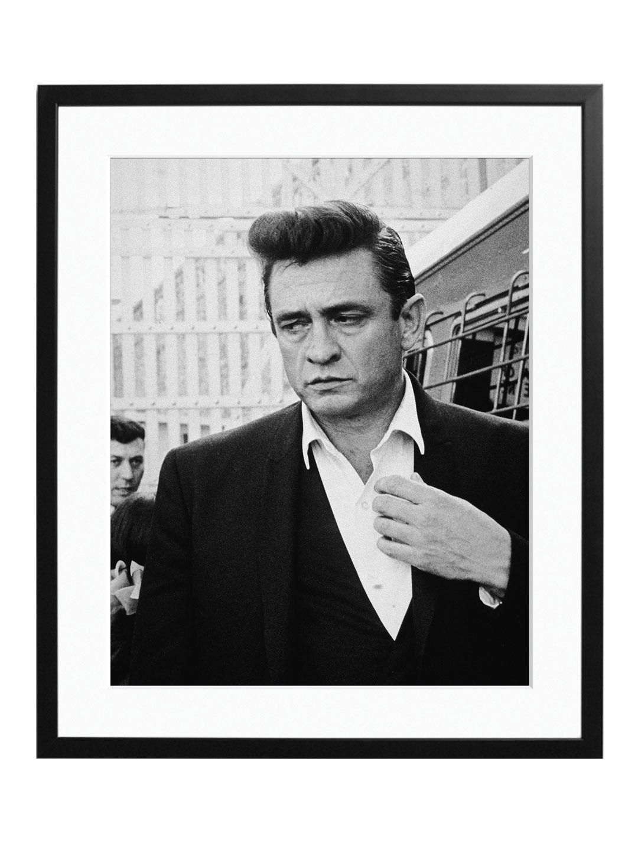 Download framed print Johnny Cash Inside Folsom Prison | Johnny ...