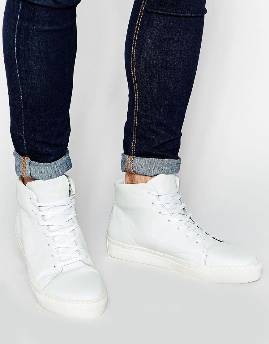 Buy Men Shoes / Selected Homme Darvin High Top Sneaker