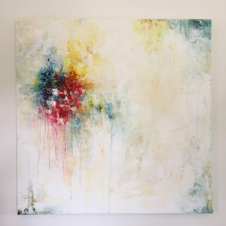 Perception  100 X 100 Cm, Peinture Acrylique Sur Toile