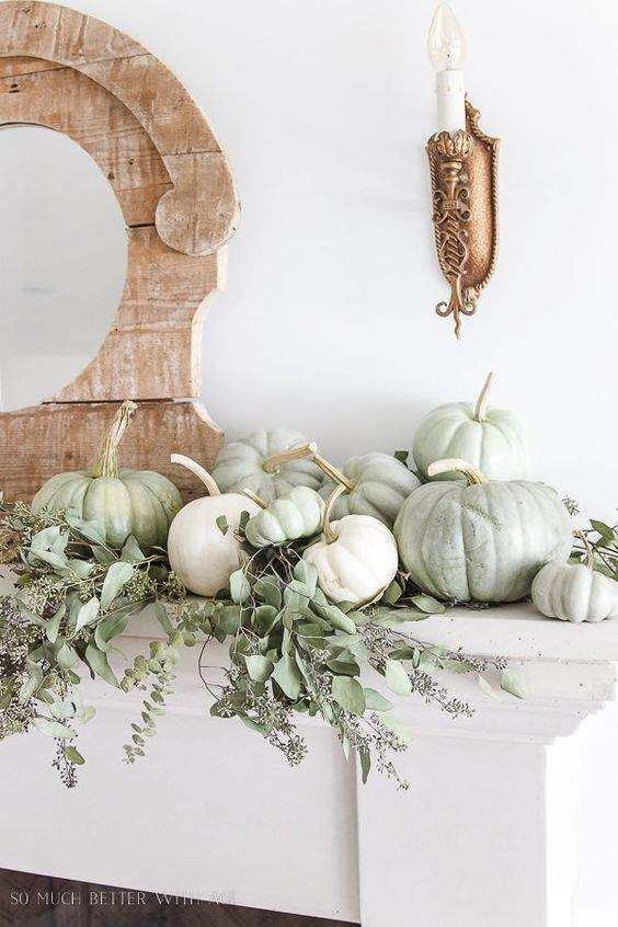 20 Sophisticated Fall Decor Ideas #fallmantledecor