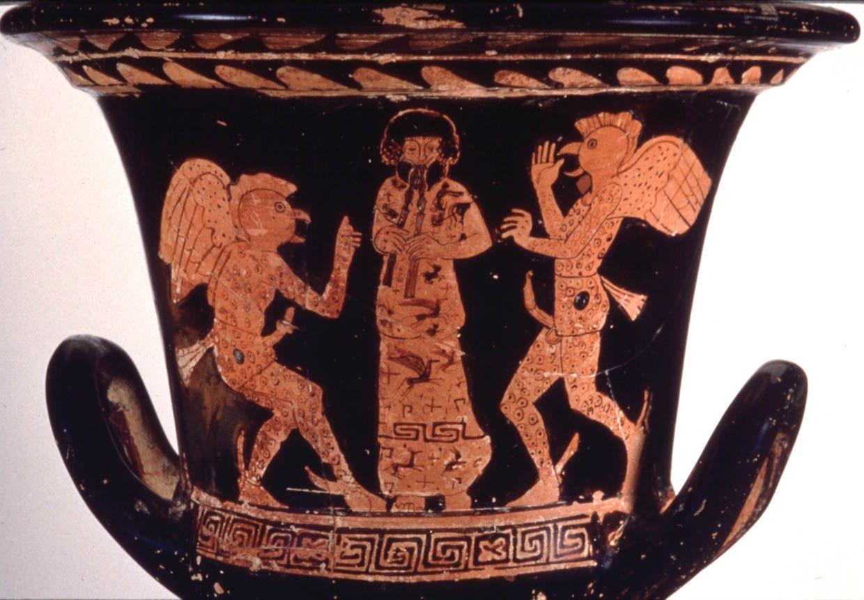 Perseus Image 1990 05 0187 Ancient Greek Pottery Greek Pottery Ancient Greek