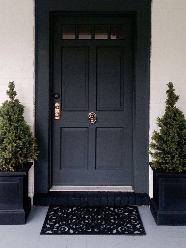 62 most beautiful modern farmhouse front door entrance
