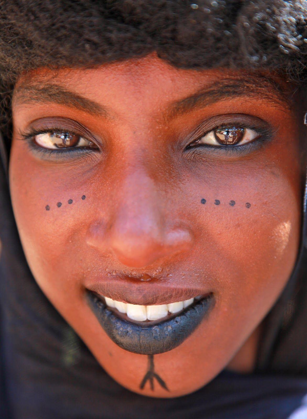 Traditional makeup of a Fulani girl | Make-up I'd Rock | African