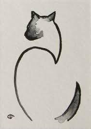 Linear Siamese Cat Google Search Watercolor Cat Cat