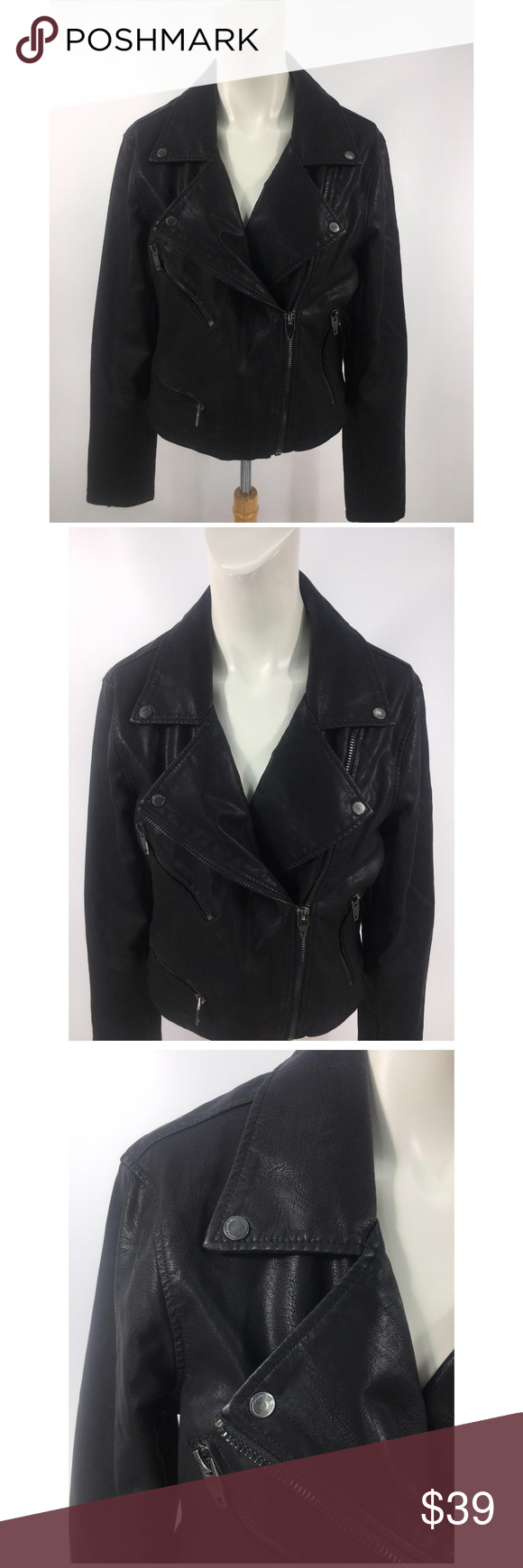 Blanknyc life changer motorcycle leather Jacket Leather