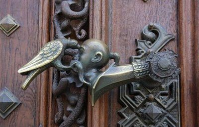 unique door knobs