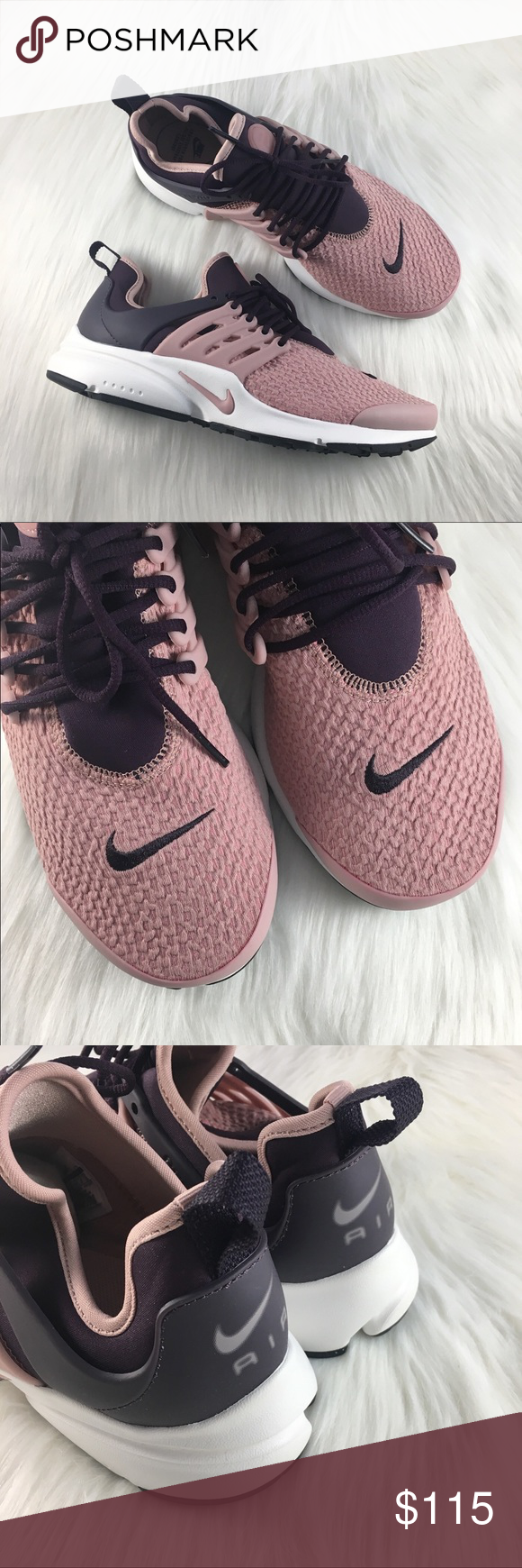 sports shoes 9bdfd ede06 Women s Nike Air Presto Particle Pink Sneakers Women s Nike Air Presto Port  Wine Particle Pink