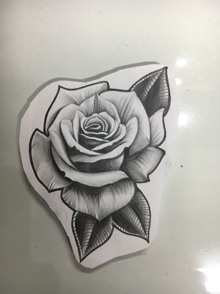Pin By Kayla Pries On Pwtattoo Trabalhos Realistic Rose Tattoo Rose Drawing Tattoo Rose Tattoo Design
