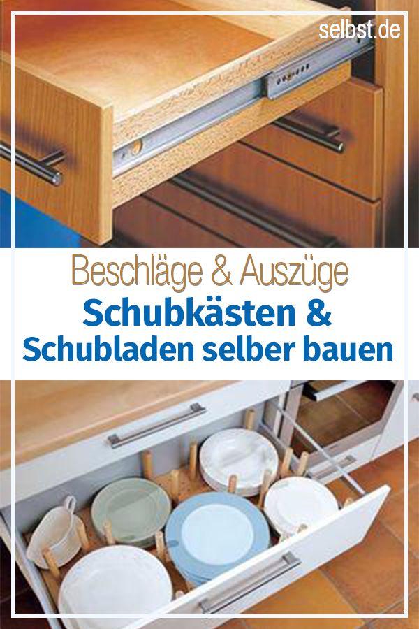 Schubladen Selber Bauen Schublade Selber Bauen Schublade Bauen