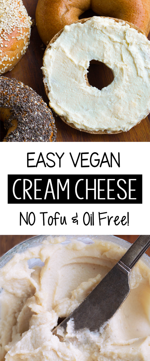How To Make Creamy Vegan Cream Cheese Without Any Oil Or