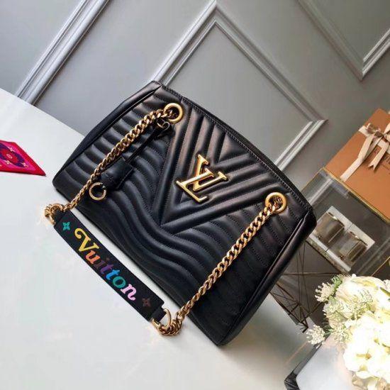 Louis Vuitton New Wave Chain Tote M51496 Noir Deep-black  17a9795a2dd5e