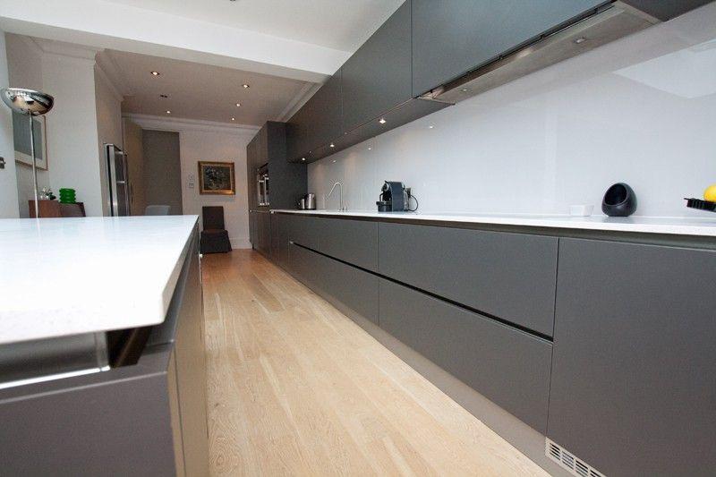 White Kitchen Grey Worktop white quartz kitchen worktop … | pinteres…