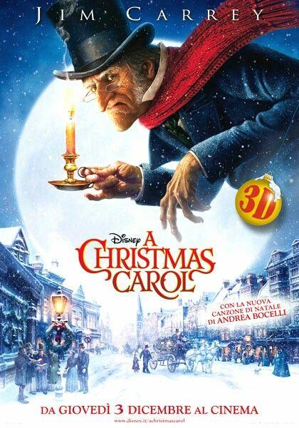 Film Di Natale.Il Canto Di Natale Disney Christmas Carol Christmas Carol Christmas Movies