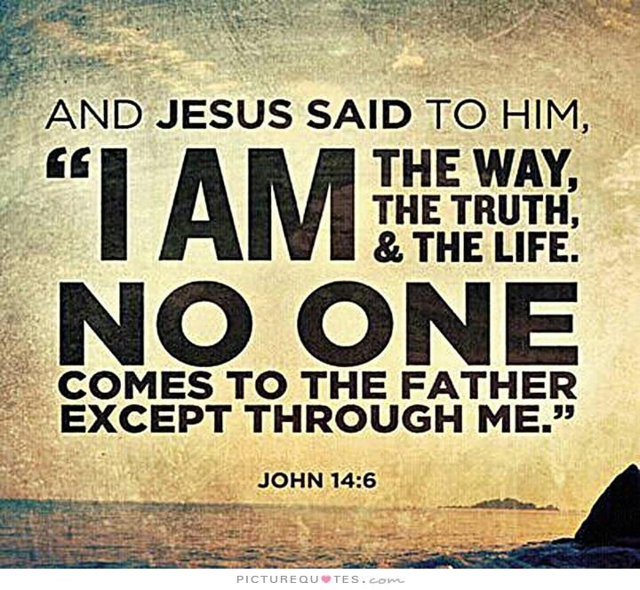 Jesus Is The Way The Truth And The Life. Description From Pinterest.com.