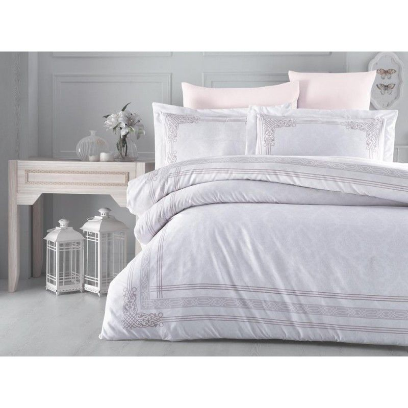100 Cotton Cappuccino Design Full Double 6 Pieces Bedding Duvet Cover Luxury Set Bed Linens Luxury Bed Bed Duvet Covers
