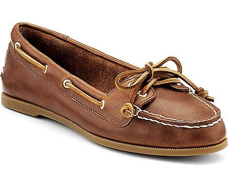 Leather · Sperry Top-Sider Audrey Slip-On Boat Shoe-comfortable ...