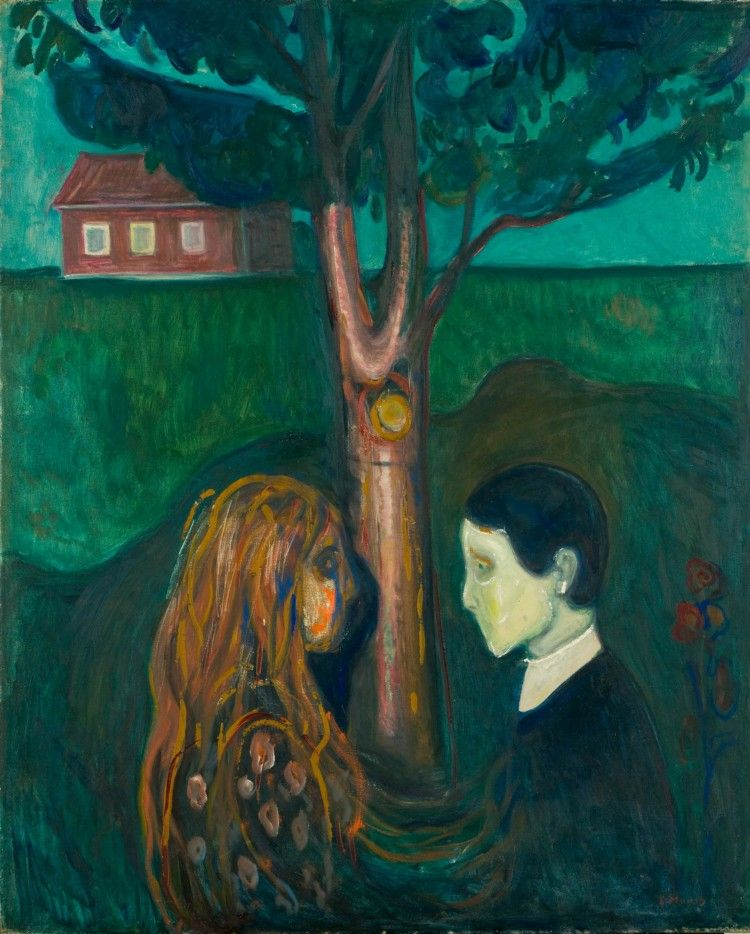 Poster Edward Munch THE SCREAM Expressionism Oil Painting Art #1