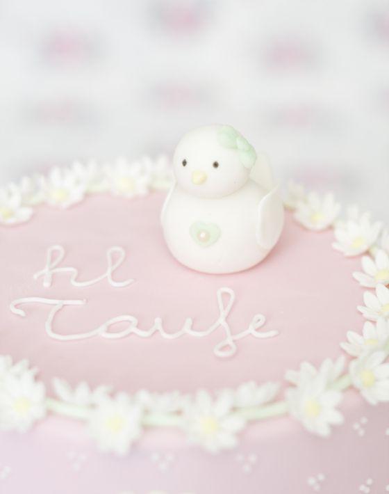 christening cake by petite homemade