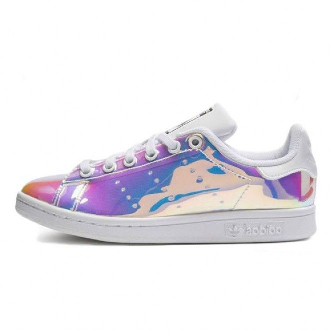 Free Shipping Adidas Originals Stan Smith Holographic Shoes