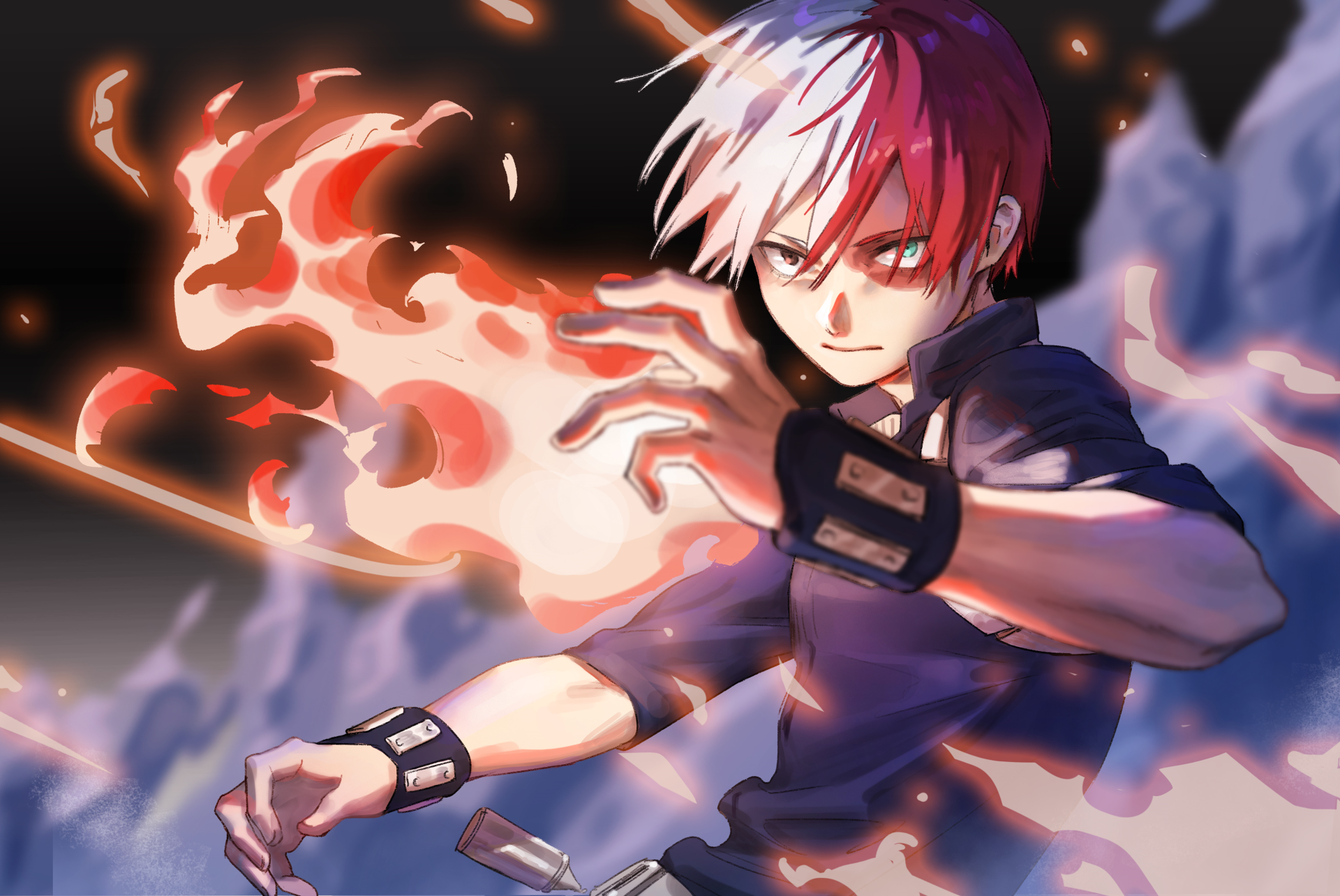 Anime My Hero Academia Shouto Todoroki Wallpaper Hero My Hero