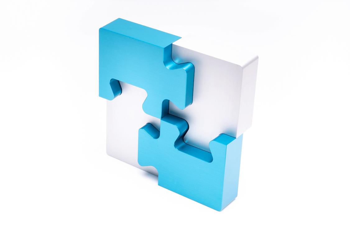 4 Piece Puzzle Puzzle Pieces Puzzles