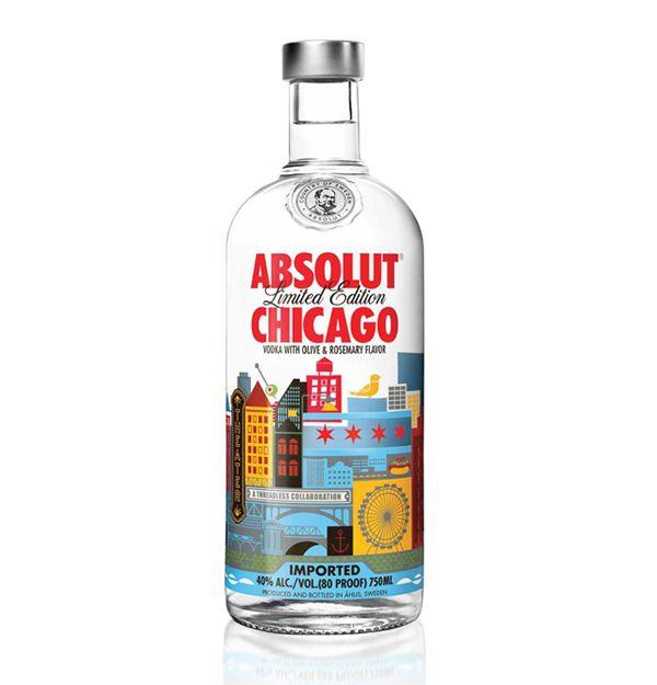 Absolut Chicago packaging design Absolut Chicago packaging design