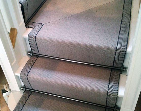 Best Roger Oates Stair Carpets Grey Stair Carpet Hallway 400 x 300
