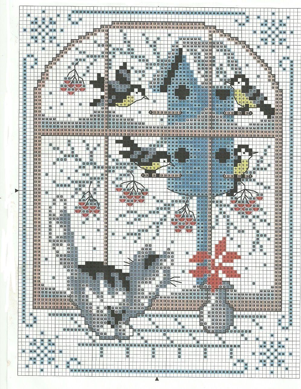 winter cross stitch window kitty cat birds birdhouse snow. Black Bedroom Furniture Sets. Home Design Ideas