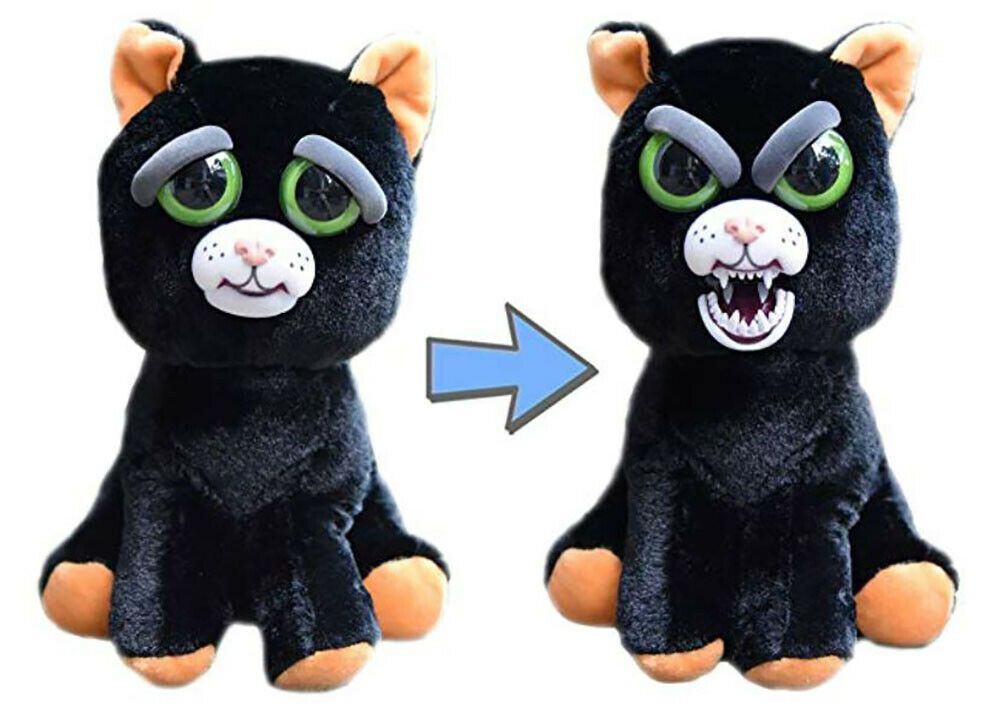 William Mark Feisty Pets Katy Cobweb Feisty Black Cat 8 5 Inches William Mark Feistypets Plush Animals Animal Dolls Funny Toys