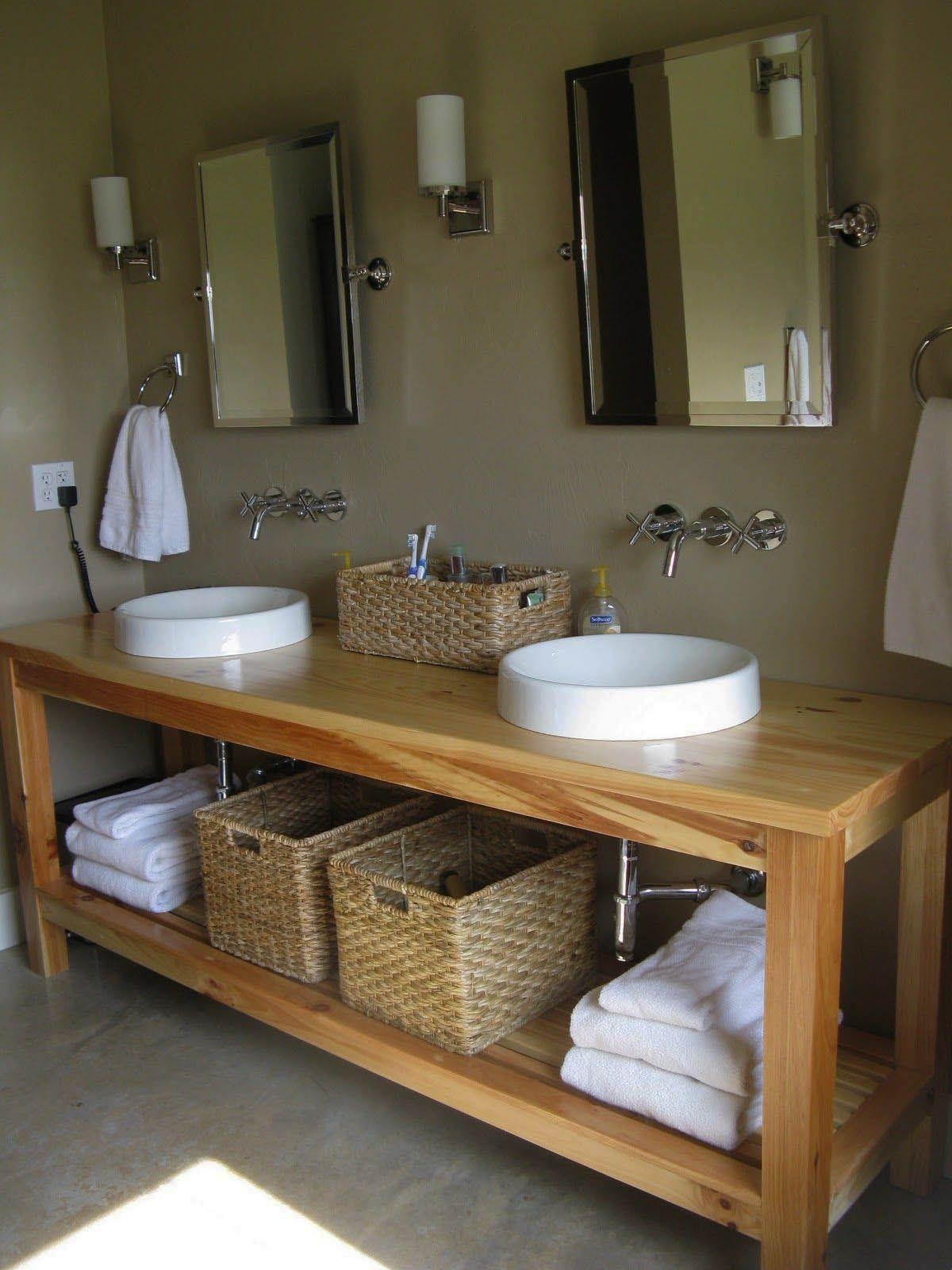 Open Bathroom Vanity, Open Bathroom Vanities