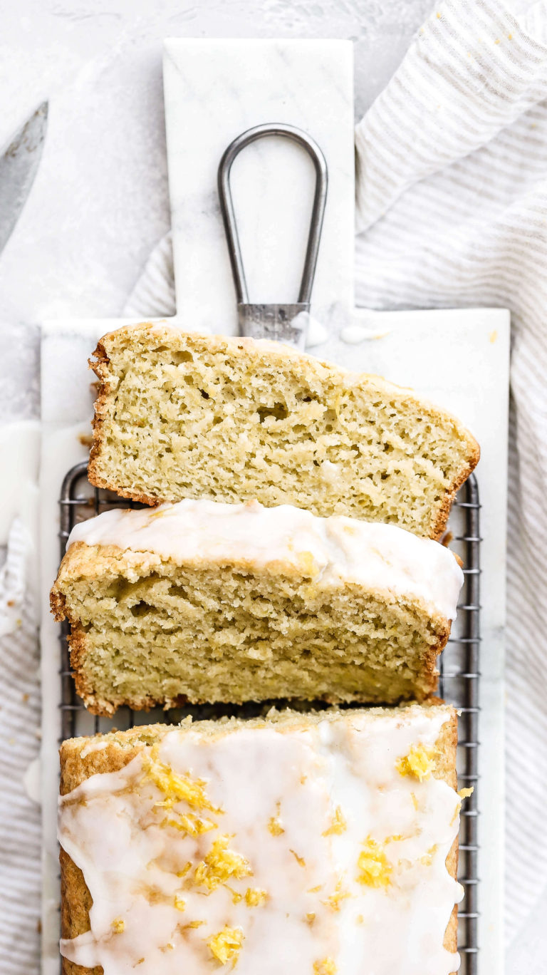 lemon zucchini bread gluten free  dairy free  recipe